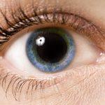 Dilated eye