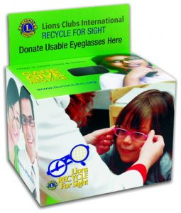 Recycle for Sight - Lions Club